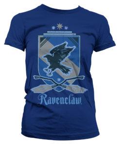 T-Shirt Harry Potter - Ravenclaw pour Femme de couleur Bleu Nuit