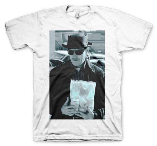 T-shirt Heisenberg Money Bag grandes Tailles de couleur Blanc