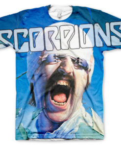 T-Shirt imprimé Scorpions Allover de couleur