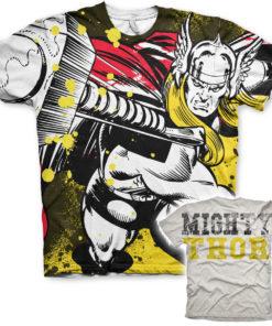 T-Shirt imprimé Thor Allover de couleur