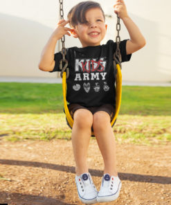 T-shit KISS ARMY enfant