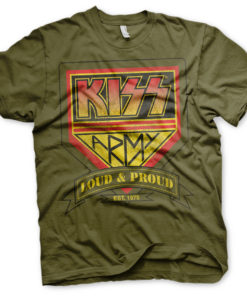 T-Shirt KISS ARMY Kaki