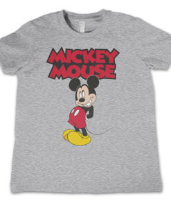 T-Shirt Little Mickey Mouse pour enfant de couleur Gris