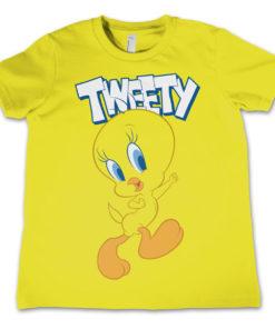 T-Shirt Looney Tunes - Tweety   pour enfant de couleur Jaune