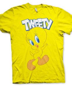 T-Shirt Looney Tunes - Tweety de couleur Jaune