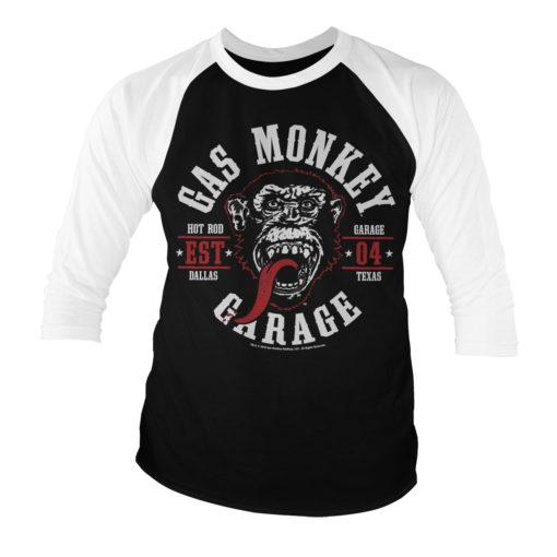 T-shirt manches 3/4 GMG Round Seal de couleur