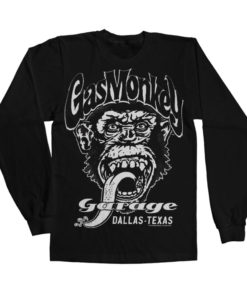 T-shirt manches longues Gas Monkey Garage - Dallas