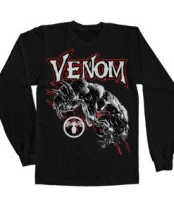 T-shirt manches longues Venom Long Sleeve de couleur Noir