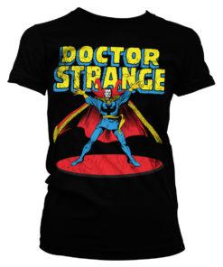 T-Shirt Marvels Doctor Strange pour Femme de couleur Noir