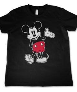 T-Shirt Mickey Mouse Classic pour enfant de couleur Noir