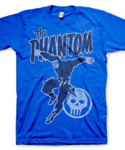 T-shirt Phantom Jump grandes Tailles de couleur Bleu