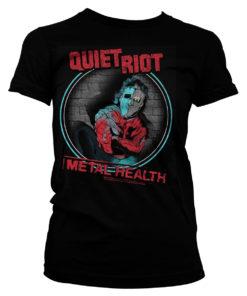 T-Shirt Quiet Riot - Metal Health pour Femme de couleur Noir