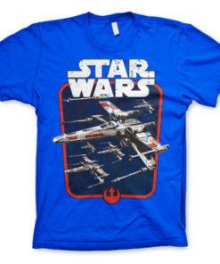 T-shirt Red Squadron grandes Tailles de couleur Bleu