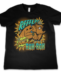 T-Shirt Scooby Doo Reeelp   pour enfant de couleur Noir