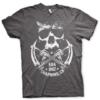 T-shirt SOA 1967 Skull grandes Tailles de couleur Gris Foncé