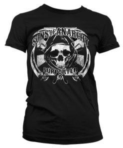 T-Shirt SOA Supporter pour Femme de couleur Noir