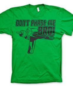 T-shirt Star Trek - Dont Phase Me Bro grandes Tailles de couleur Vert