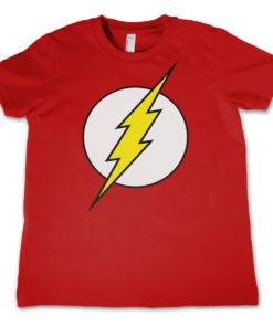 T-Shirt The Flash Emblem pour enfant de couleur Rouge