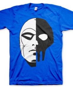 T-shirt The Phantom Icon Head grandes Tailles de couleur Bleu
