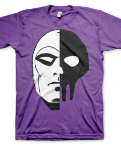 T-shirt The Phantom Icon Head grandes Tailles de couleur Violet