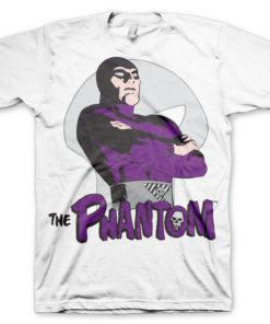 T-shirt The Phantom Pose grandes Tailles de couleur Blanc