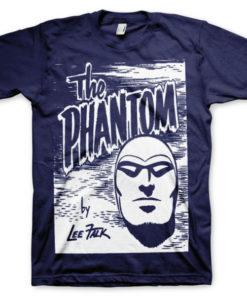 T-shirt The Phantom Sketch grandes Tailles de couleur Bleu Nuit