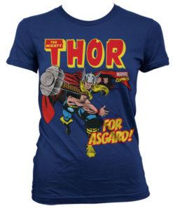 T-Shirt Thor - For Asgard! pour Femme de couleur