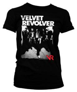T-Shirt Velvet Revolver pour Femme de couleur Noir