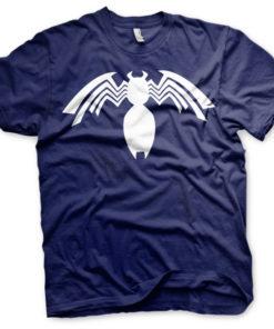 T-shirt Venom Icon grandes Tailles de couleur Bleu Nuit
