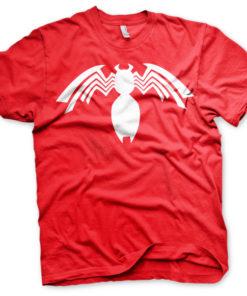 T-shirt Venom Icon grandes Tailles de couleur Rouge