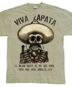 T-shirt Viva Zapata 2 grandes Tailles de couleur Kaki