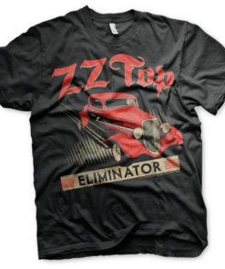 T-Shirt ZZ-Top Eliminator de couleur Noir