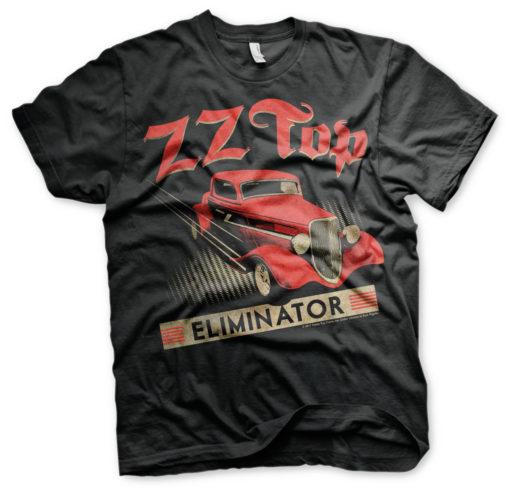 T-Shirt ZZ-Top Eliminator de couleur Noir