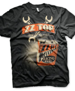 T-Shirt ZZ-Top High Octane Racing Fuel de couleur Noir