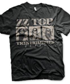 T-Shirt ZZ-Top - Tres Hombres de couleur Noir