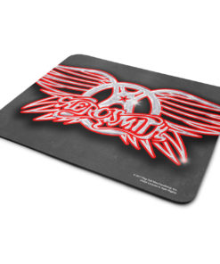 Tapis de souris Aerosmith Chrome Logo de couleur