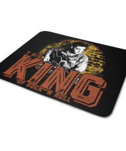 Tapis de souris Elvis Presley - The King Of Rock 'n Roll de couleur