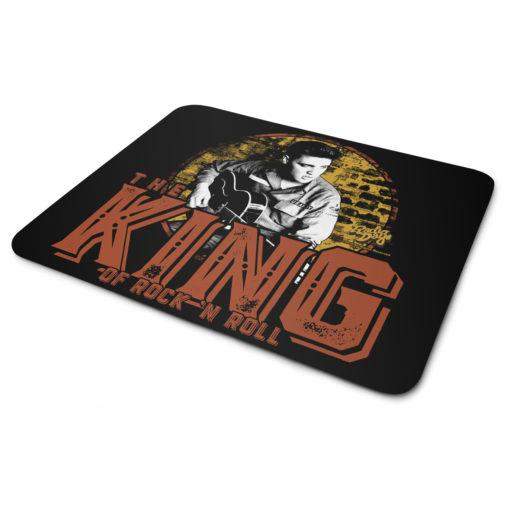 Tapis de souris Elvis Presley - The King Of Rock 'n Roll de couleur