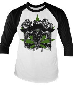 Tshirt manches longues Cypress Hill Hoodlum Long Sleeve Baseball de couleur