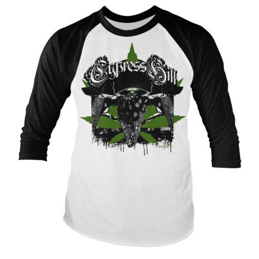 Tshirt manches longues Cypress Hill Hoodlum Long Sleeve Baseball de couleur