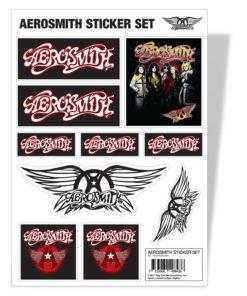 Vêtements Aerosmith Sticker Set de couleur