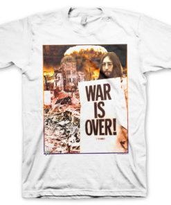Vêtements John Lennon - War Is Over de couleur Blanc