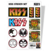 Vêtements KISS Sticker Set de couleur