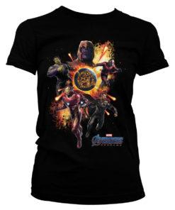Vêtements The Avengers Endgame de couleur Noir