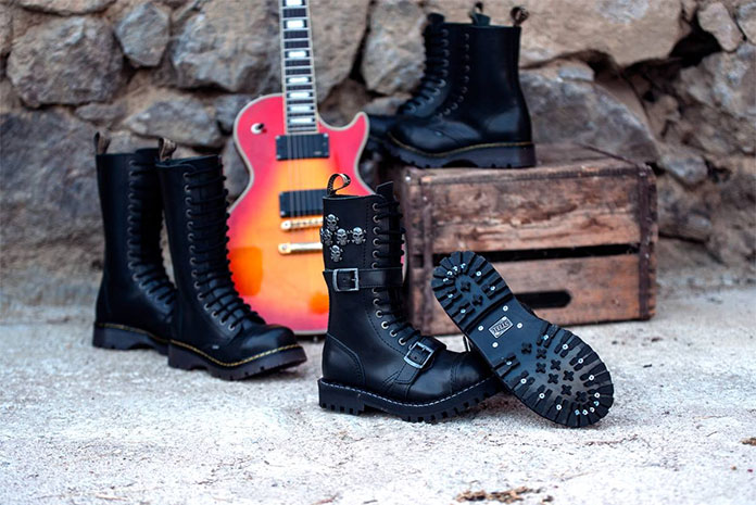 Chaussures Punk Rock