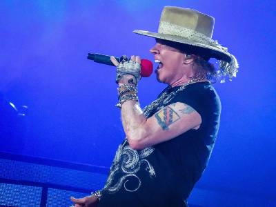 Axl Rose des Guns N'Roses