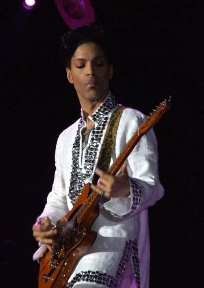 Prince au festival Coachella en 2008