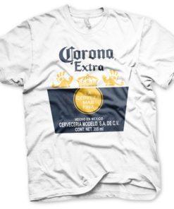 T-shirt Corona Extra blanc
