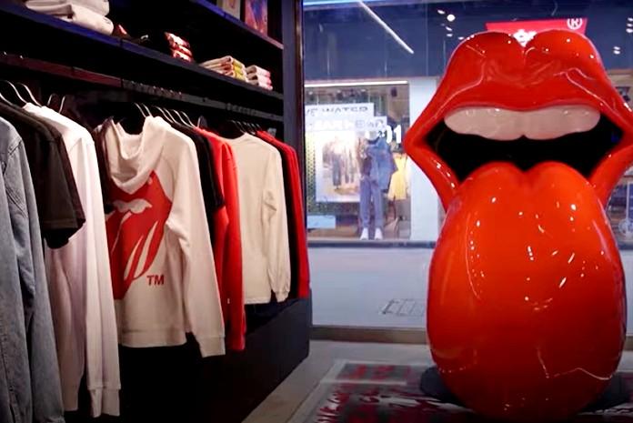 Boutique Rolling Stones à Londres