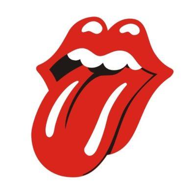 Logo du groupe de rock Les Rolling Stones (la bouche qui tire la langue)